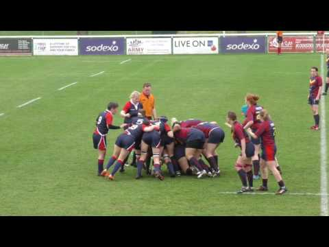 REME/RE vs AGC/INT Corps Army Womens Corps Final Highlights 29-3-17