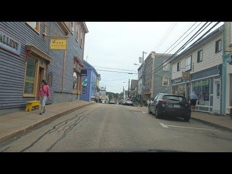 Driving around Lunenburg