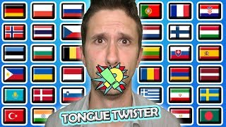 40 Kids Pronounce Tongue Twisters In 40 Different Languages