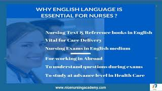 Easy Learning English for Nurses Course