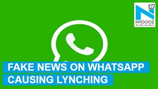 Government Warns WhatsApp Over Fake News