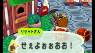 Animal Forest (N64) - Resetti