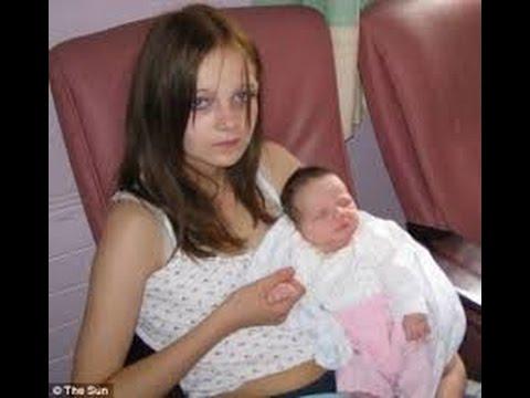 Mum at 12 Tressa Middleton recalls where she got pregnant
