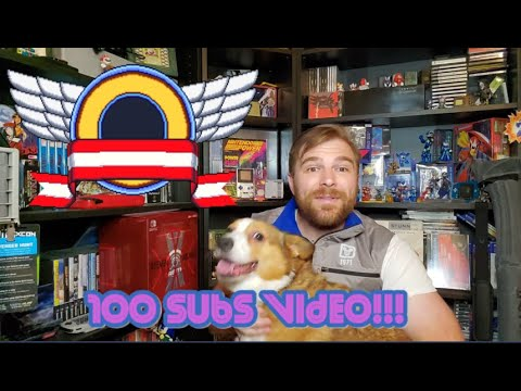 100 Subs!!! And Working Designs Shelf Gameroom Tour!!!!