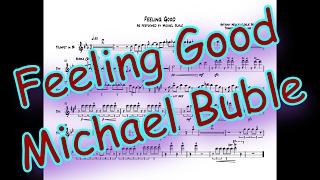 Feeling Good - Trumpet Transcription (Lead)