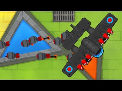 Bloons Tower Defense 6 - 5th Tier Monkey Ace -The Flying Fortress