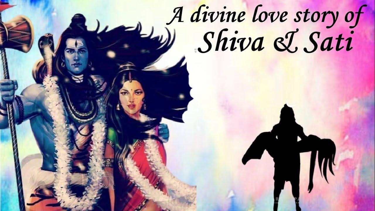 A divine love story of Shiva & Sati (English) - YouTube