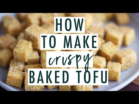 Easy Crispy Baked Tofu