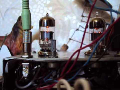 Ламповый дисторшн 6н2п х2