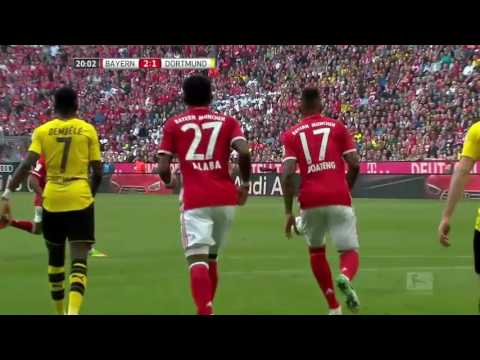 VIDEO Bayern Munich 4   1 Borussia Dortmund Highlights   Foo