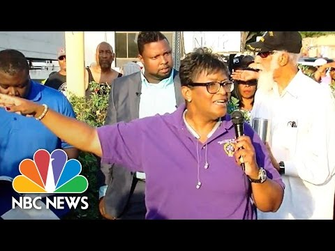 Pastor At Terence Crutcher Protest: You Cannot Cut Down Our Sons And Daughters | NBC News