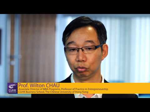 Areas of Excellence: Prof Wilton Chau introduces Venture Capital essences in Hong Kong