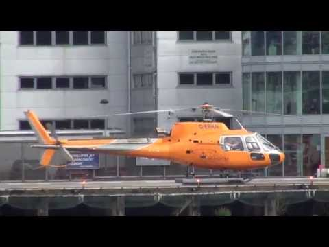London Heliport - AS350, EC135, AW139, AW109