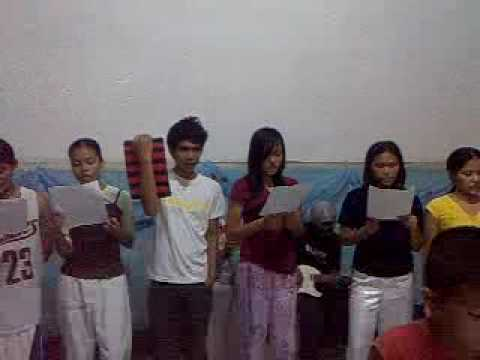 wonderful God by christ for the nation, (young people of full gospel philippines)