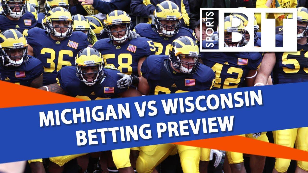 Michigan vs wisconsin betting line sportsbook the greek sportsbook sports betting