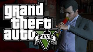GTA 5: Funny Moments! #3 - Tennis, Drugs, Niko Bellic, Lemonmobile! - (GTA V Adventures)