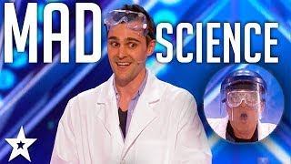 Mad Science with Nick Uhas on America's Got Talent 2017 | Got Talent Global