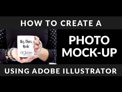 How to Create a Mock Up in Adobe Illustrator