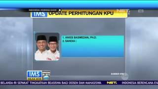 Update Hasil Pilkada DKI Berdasarkan Perhitungan KPU
