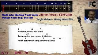 Angin Malam Broery Musik Latar (Backing Track) Untuk Berlatih Vocal dan Solo Gitar