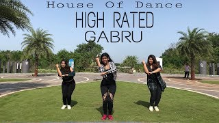 High Rated Gabru II Nawabzaade II House Of Dance Choreography