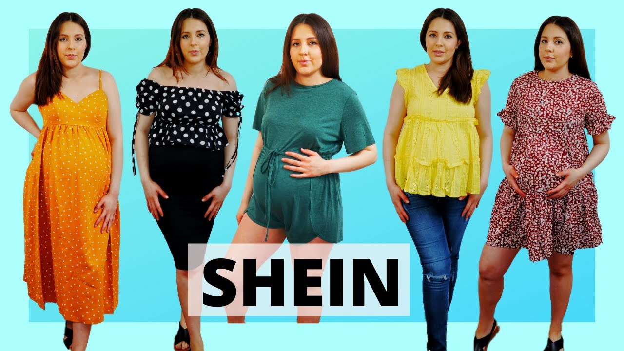 Shein Ropa Para Embarazada Haul De Ropa De Maternidad Moderna Shein Maternity Review Youtube