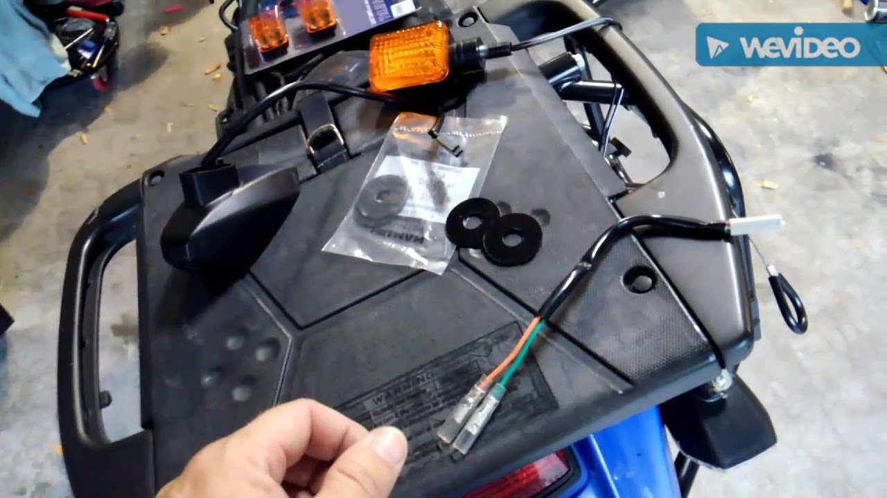 KLR 650 turn signals replacement Klr Turn Signals Wiring Diagram on
