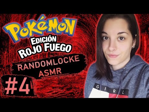 [ASMR Español] Pokémon RF Randomlocke Ep. 4 - CAPTURAS MUUY RANDOM