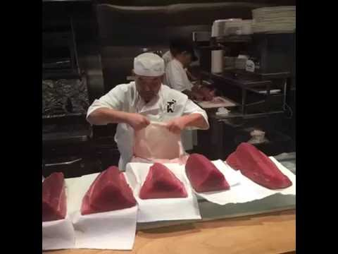 Behind The Scenes At Sushi Den: What Happens After Master Chef Toshi Kizaki Chooses His Morning Fish