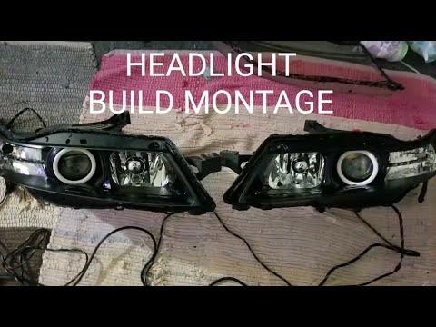 MY ACURA TL MORIMOTO HEADLIGHT BUILD MONTAGE