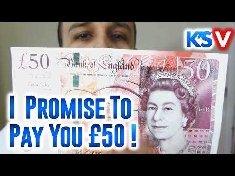 The Truth About Money And I Promise to Pay You £50