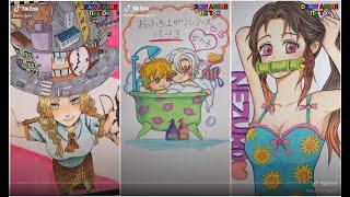 ティックトック イラスト合成 |ック絵 合成 | Tik Tok Draw Anime Funny by TikToker #146