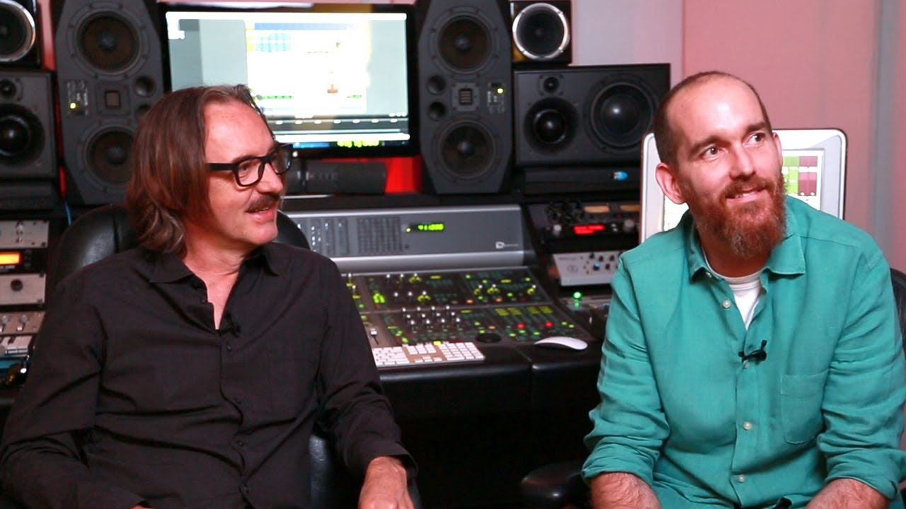 In The Studio with Butch Vig and Billy Bush - YouTube
