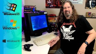 How I play old PC GAMES in 2021 (Win98 / WinXP / Windows 10)