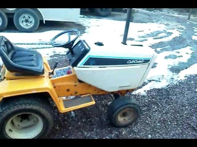 Cub Cadet 580 Lawn Tractor | Cub Cadet Lawn Tractors: Cub Cadet Lawn ...