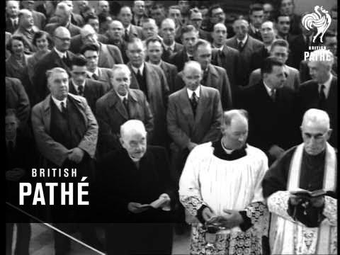 Opening Of Lough Erne Aka Irish Power Station Opened (1952)