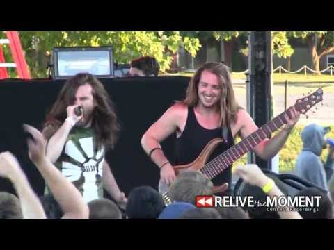 2013.07.24 Veil of Maya - We Bow In It's Aura (Live in Chicago, IL)
