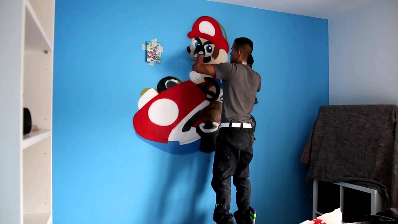 Farbrausch Origins © Super Mario Kart Graffiti Zei - YouTube