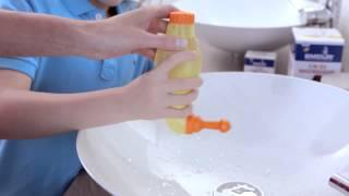 Bunte Nasendusche Emcur für Kinder