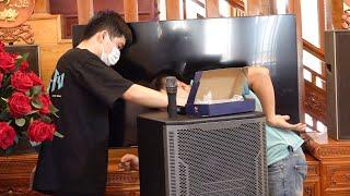 Giao loa kéo Prosing W215B cho anh Việt ở Lạng Giang, Bắc Giang