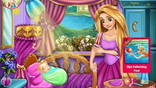 Tangled Игры—Малыш Дисней Принцесса Рапунцель—Мультик Онлайн Видео Игры Для Детей 2015
