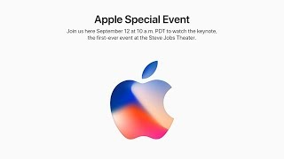 Keynote Apple du 12 septembre (iPhone 8) en direct sur AppleiGeek !