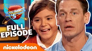 John Cena Hosts NEW Are You Smarter Than A 5th Grader! (FULL EP) | Nick