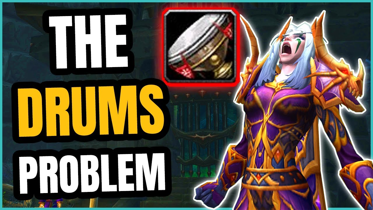 A Simple Solution to the Drums of Battle Problem - WoW TBC Classic