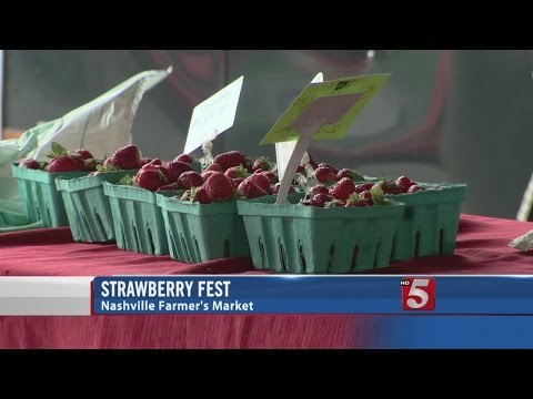 Strawberry Fest Continues At The Nashville Farmer's Market