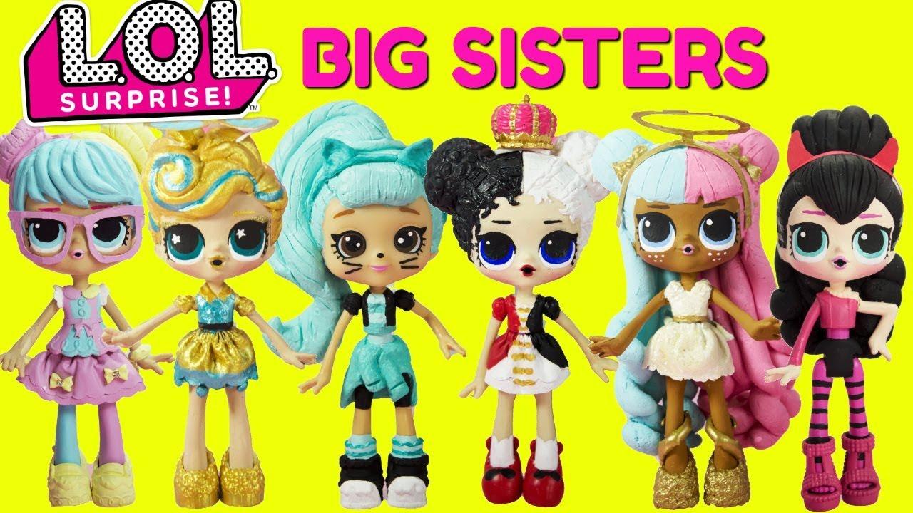 Lol Surprise Big Sister Compilation Bon Bon Luxe