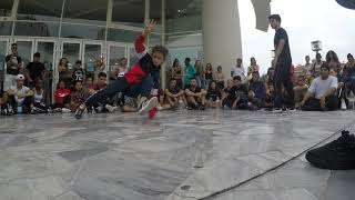 Battle MAMAC 2018 - Bgirl Mia Vs Bboy Rodrigo