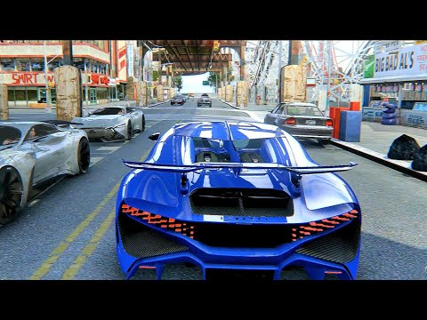 GTA IV | 2019 Cars & Latest Ultra Realistic Next Gen NLG ENB Remastered Graphics Mod 4K!
