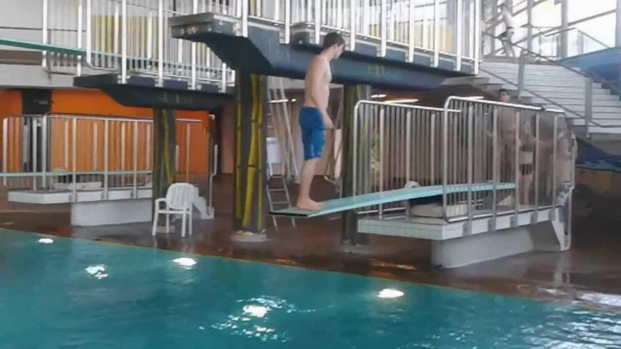 1meter sprungbrett funjumpen youtube - Sprungbrett fur pool ...