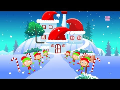 We Wish you Merry Christmas | Xmas Cartoon Videos | Videos for Babies | Song by Kids Baby Club